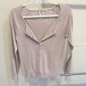 Free People Henley Top Size M